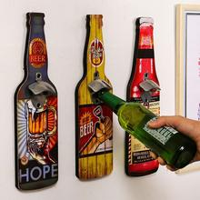 Retro Wall-mounted Beer Bottle Opener Restaurant Wall Wine Decoration Hotel Bar Personality Pendant