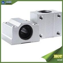 1 шт. SC8UU SCS8LUU 8 мм Линейный шарикоподшипник блок ЧПУ маршрутизатор SCS6UU SCS10UU SCS12UU SCS13UU для ЧПУ 3D принтер валы стержень части