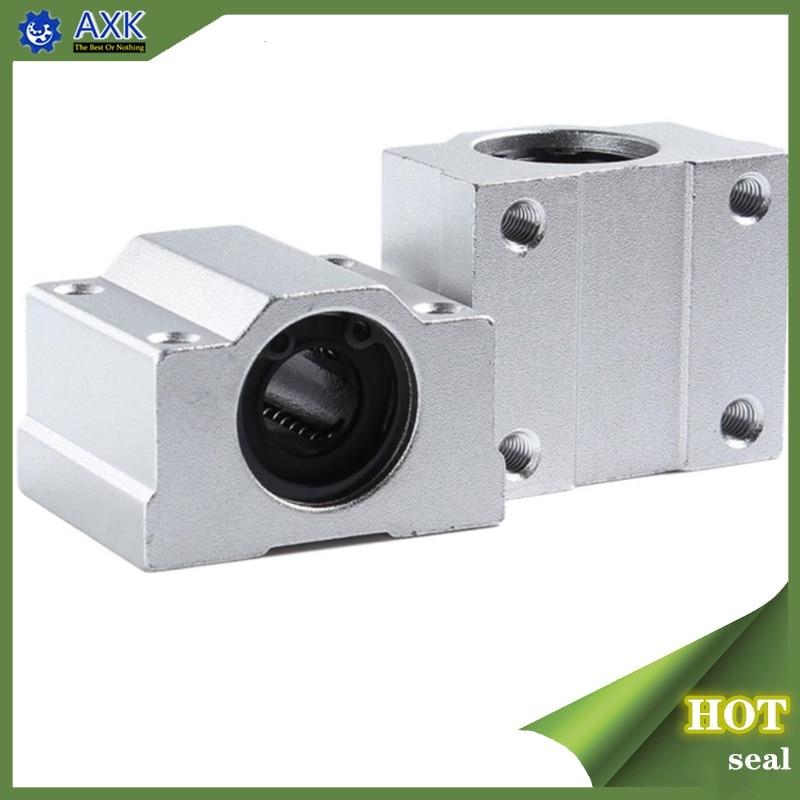 1 шт., линейный шариковый подшипник SC8UU SCS8LUU 8 мм, фрезерный станок с ЧПУ SCS6UU SCS10UU SCS12UU SCS13UU для ЧПУ, детали валов для 3D-принтера