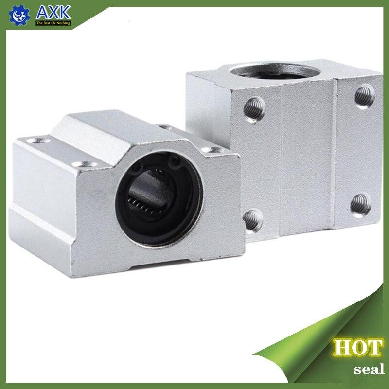 1pc SC8UU SCS8LUU 8mm Linear Ball Bearing Block CNC Router SCS6UU SCS10UU SCS12UU SCS13UU voor CNC 3D printer assen Staaf onderdelen