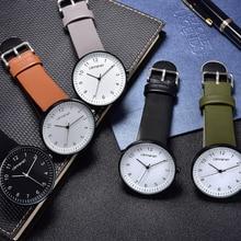 Classic Fashion Quartz Watch Women Simple Elegant Ladies Wrist Watch Casual Female Clock Leather Big Watch For Woman Male Unisex цена и фото