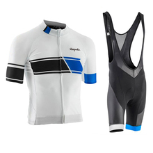 Raphaing Cycling Jersey Sets Breathable Short Sleeve Clothing Bike Uniforme Ropa Ciclismo Summer Bicycle Sportswear Kit