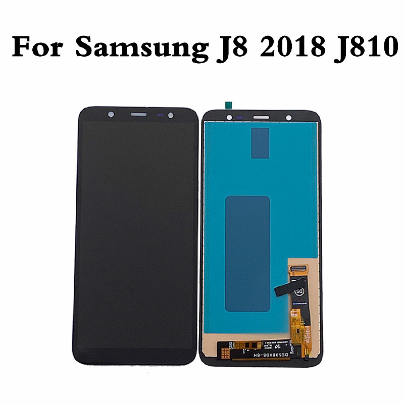 TFT Incell <font><b>LCD</b></font> For <font><b>Samsung</b></font> <font><b>J8</b></font> <font><b>2018</b></font> J810 <font><b>LCD</b></font> Display TScreen For <font><b>Samsung</b></font> <font><b>J8</b></font> J810 Touch Screen Digitizer For <font><b>Samsung</b></font> J810F Display image