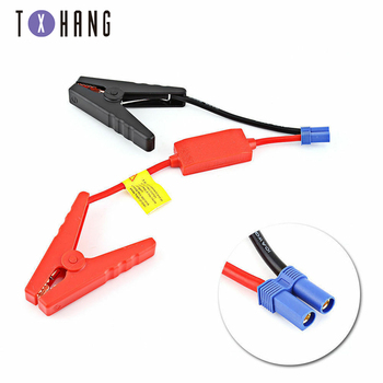 Red Black Battery clip Connector Emergency Jumper Cable Clamp Booster Battery Clips for Universal 12V Car diy electronics image