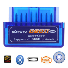цена на Super Mini Elm327 Bluetooth OBD2 V1.5 Elm 327 V 1.5 OBD 2 Car Auto Diagnostic-Tool Scanner For Android Torque Car Code Scanner