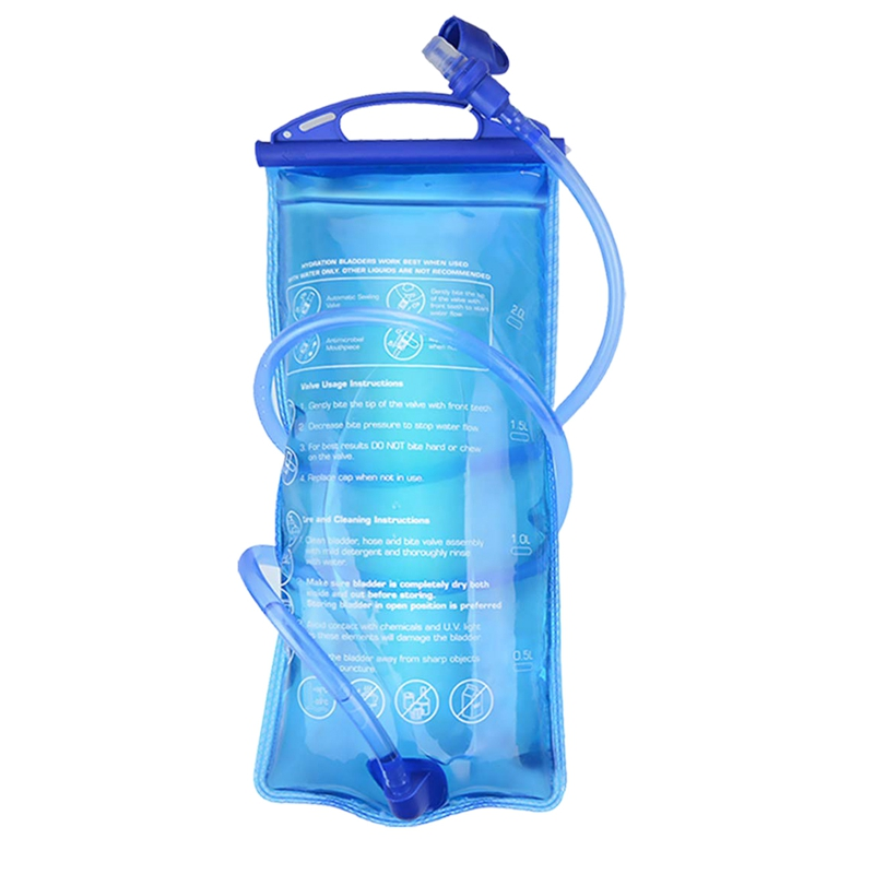 2L Bladder Hydration Pack Bladder  Insulated Reservoirs BPA Free Bladder Replacement for Backpack Outdoor Running Cycling Hiking|Sports Bottles| |  - title=