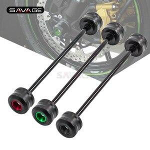 Front Axle Fork Wheel Protector For KAWASAKI Z800 Z900 Z900RS Z1000 Z650 Z750 Z750S Motorcycle Accessories Crash Slider Pad(China)