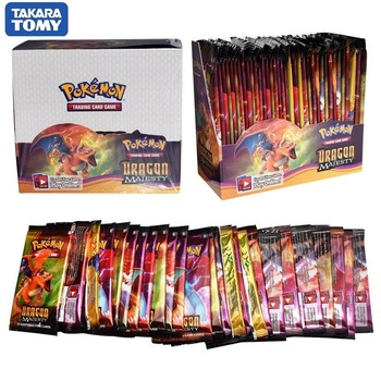 360pcs Pokemon cards All series TCG: Sun & Moon Series Evolutions Booster Box Collectible Trading Card Pokemon  2