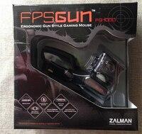 Korea ZALMAN FPS FG1000 Ergonomic Gun style pro Gaming Mouse black Optical 3D USB wired CF/LOL Game mouse 2000DPI