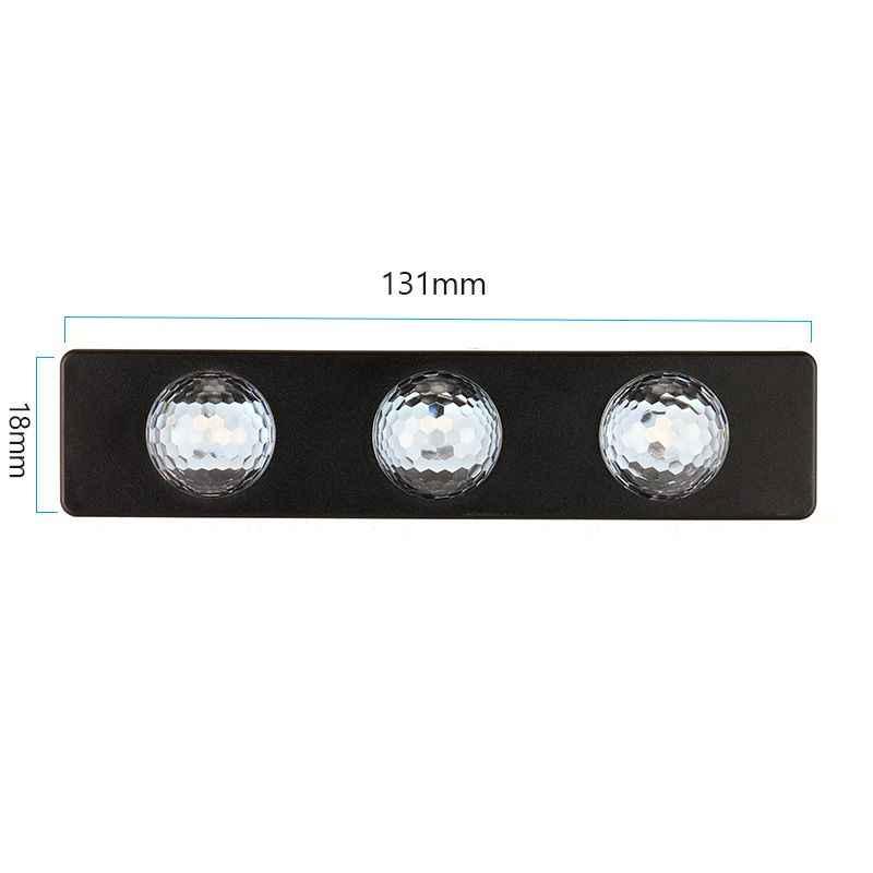 4x colores LED RGB coche Interior luz decorativa atmósfera lámparas coche ambiente pie estrella luz estrellada inalámbrica con Control de voz
