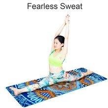 Non-Slip Slimming 5MM Lotus Pattern Suede TPE Yoga Mat Pads Exercise Fitness Gymnastics Mat Body Building Esterilla Pilates Yoga стоимость