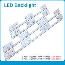 20 piece/lot FOR Konka led32f1100cf LED32F1160CF LCD TV backlight bar 35018476 35018478 Backlight Optical lens