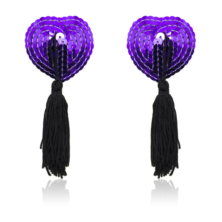 Sex Toys For Couples Women Accessories Sequin Tassel Breast Bra Nipple Cover Pasties Sexy Erotic Tools For Women Lingerie