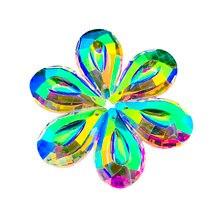 Ab color Висячие кристаллы Призма подвески солнцезащитный Ловец