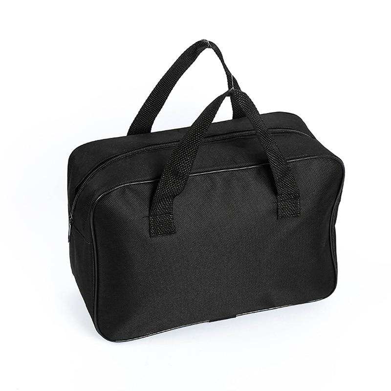 Black Organizer Bag Storage Handbag Nylon For Car Air Compressor Pump Automotive Tools Case Multi-Use Tools Organizer Bag