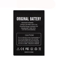 Dinto NEW Rechargeable BAT16484000 4000mAh 3.8V Battery Cell Phone Lithium Li-ion Batteries for DOOGEE X5 MAX Pro Mobile Phone