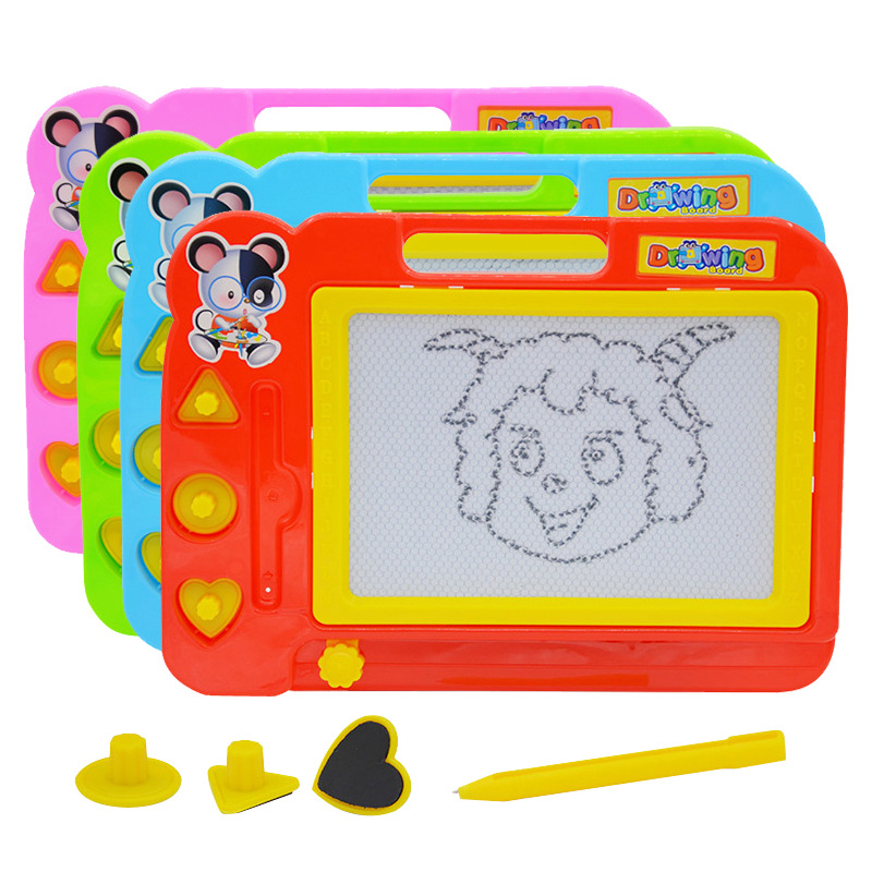 Children Plastic Magnetic Drawing Board Graffiti Drawing Board Infants Early Childhood Educational Toy Baby Drawing Board
