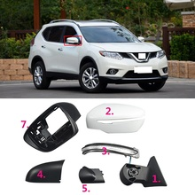 MIRROR COVER HOUSING CAP for NISSAN XTRAIL T32 02//14 Glossy White LH//RH Side