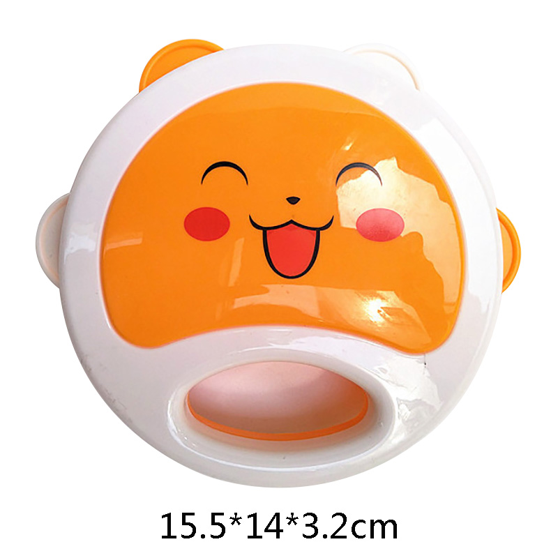 Kids New  Baby Rattles Silicone Cartoon Animal Teether Rattles Training Toys Kids Safety For Infant Teething Newborn