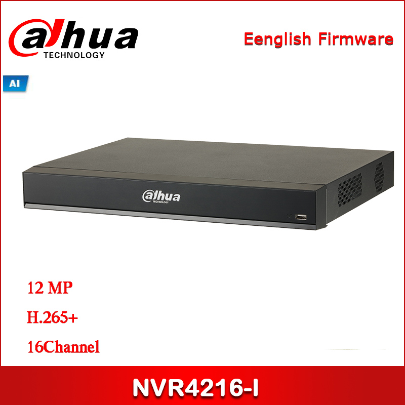 Dahua NVR NVR4216-I 16Channel 1U AI Network Video Recorder 16 Channel IP Video Access Smart H.265+