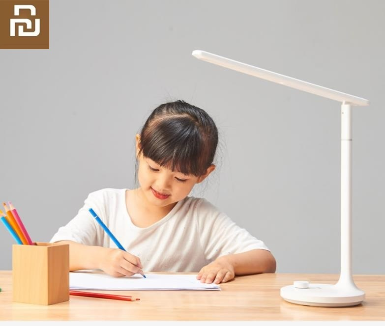 Youpin Mijia LED Rechargeable  Desk Lamps Study Lamp Read Office Table Lamps Portable Bedside Night Light Knob Dimming