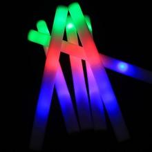 Glow-Stick Led-Foam Fluorescent Concert Party-Supplies Leds Multi-Color 3-Bright