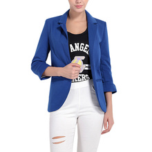 Fashion Jacket Women Suit Seven-point Sleeve Female Clothes Blaser Feminino 2019 Coat Trending Products Solid Color