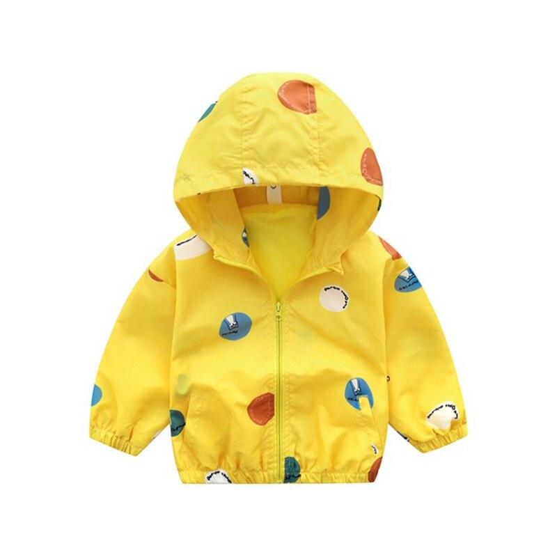 CROAL CHERIE Cute Dot Animal Fall Kids Boy Jacket For Girls Trech Coat Children Clothing Hooded Windbreaker Outerwear Clothes (2)