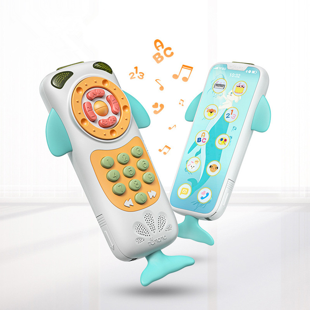 Baby Mobile Phone Simulation Touch Screen Cute Toys For Baby Music Toys Phone  Early Educational  Learning Telephone Baby Toys