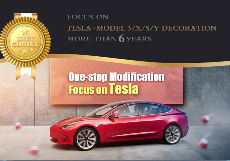 Caixa De tecido Para Tesla Model 3