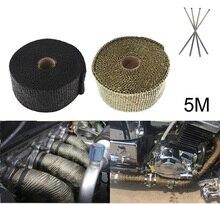 وصلة أشرطة حرارية 5MT لـ 150 قطعة أسود ، 150 قطعة titanium، و 1000 قطعة أشرطة معدنية