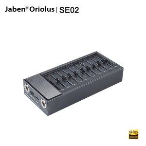 Портативный музыкальный плеер Jaben Oriolus SE02, Hi-Fi аудио 4,4 мм, сбалансированный выходной вход, пятичастотный графический эквалайзер для M6 M11 PRO