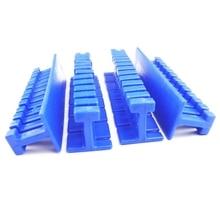 4pcs Blue Car Paintless Dent Repair Puller Tabs Dents Removal Holder Kit