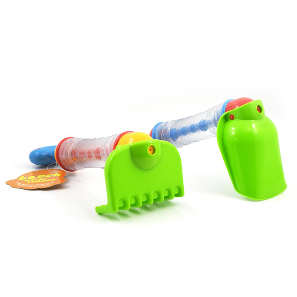2 in 1 Beach Toy Shovels Kids Play Sand Summer Seaside Dig Sand Soil Water Toys Bathing Water Toy for Kids