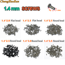 Full-Screw-Set Smartphone for Universal Kit 1bag--100pcs Replacement Round Flat