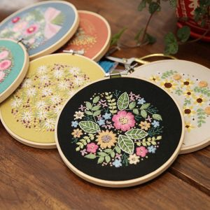 DIY Embroidery Flower Plants P