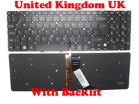 สหราชอาณาจักรสหรัฐอเมริกาไม่มีกรอบแป้นพิมพ์สำหรับACER V5-571 MS2361 ภาษาอังกฤษNK.I1717.07W 9Z.N8QBW.K0U NSK-R3KBW0U NK.I1717.07W 9Z.N8QBW....