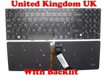 Teclado UK US sin marco para ACER V5-571 MS2361 inglés NK. I171717.07w 9z.n8qbwk0u NSK-R3KBW0U NK. I171717.07w 9z.n8qbwk0u M5-581