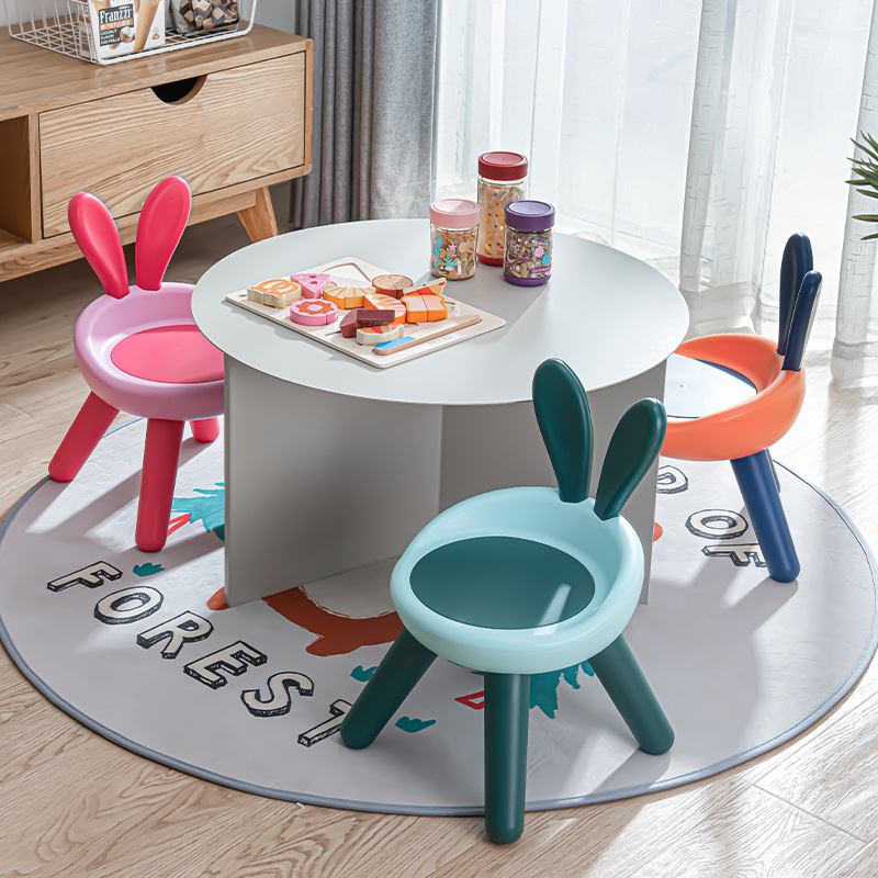 New Fashion Home Children's Chair Indoor Furniture for Children Toy Sofa Stool kids Chairs Cute Pet Rabbit Chair