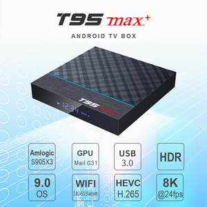 Image 2 - T95Z Plus/T95 MAX PLUS 16/32/64GB Android 7.1/9.0 4K TV BOX Smart TV box 2.4G/5GHz WiFi BT4.0 Set  Box T95 media player