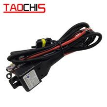 TAOCHIS – contrôleur de faisceau de câblage H4 12V 35W 55W, contrôle de relais pour HELLA 3R G5 3/5 KOITO Q5 WST AL, câble d'objectif de projecteur