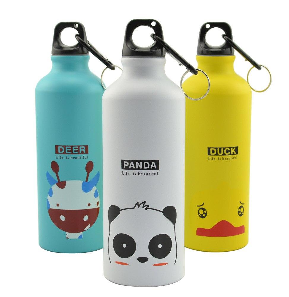 Home 500 Ml Aluminum Sports Bottle CHILDREN'S DAY Children's Day Gift Glass Izable Cold Water Pot|Sports Bottles| |  - title=
