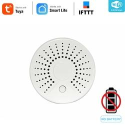 Vita intelligente standalone WiFi Sensore di Fumo Con Temperatura del Rivelatore del Sensore Sistema di Allarme Senza Fili del Rivelatore di Fumo IFTTT