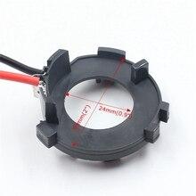 цена на 10pcs Car Led Headlight Auto Led Headlamp Light Lamp Bulb H7 Adaptor Adapter Holder Base for GOLF 7