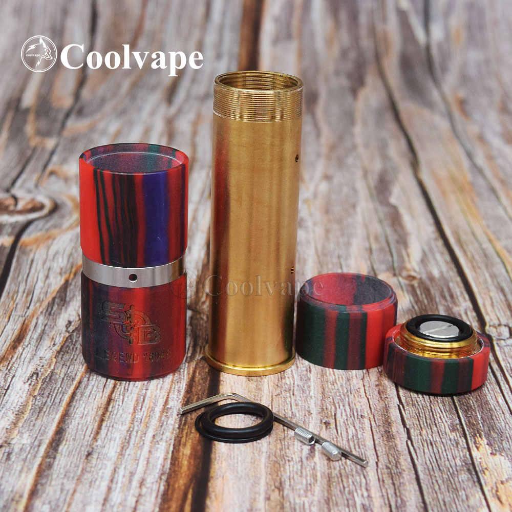 Coolvape style sob mod kit, электронная сигарета, аккумулятор 18650, диаметр 25 мм, вейп ручки, мод, вапорайзер, механические комплекты вейпа vs Avid Lyfe mod