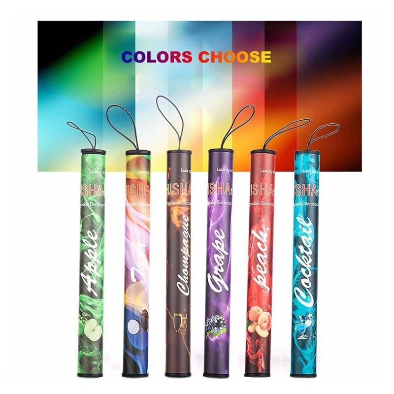 50pcs More Lot Time Stick Pen Portable Multiple One Time Smoking Pipe E Cigarette Shisha Hookah Vaporizer Pod Vape Pen Mods