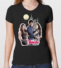 Camiseta serie tv chica vampiro nuova stagione max e daisy mondo vampiro menina