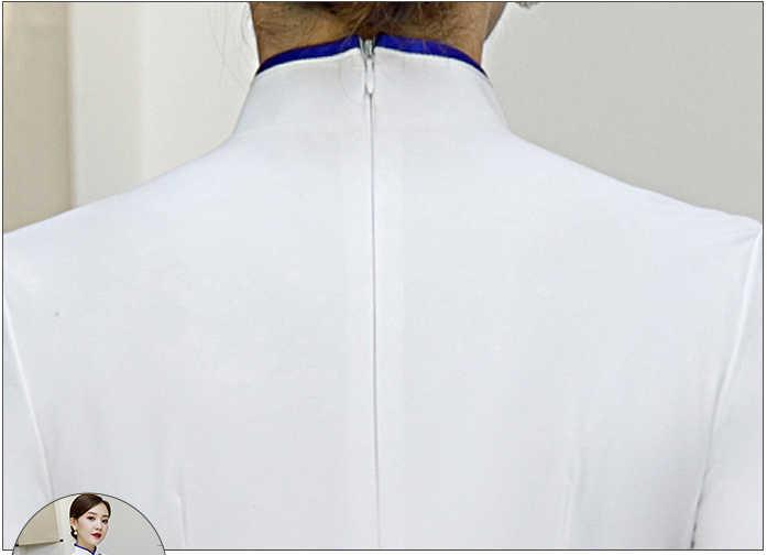 Beyaz kadın parti elbise ayak bileği uzunlukta gece elbisesi Cheongsam çin tarzı zarif Qipao seksi düğün balo uzun elbisesi Vestido S-5XL