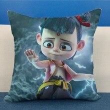 NE ZHA mythology film comic figure pillow  Plush Stuffed Baby Child Original Toys Christmas Gift Cushion