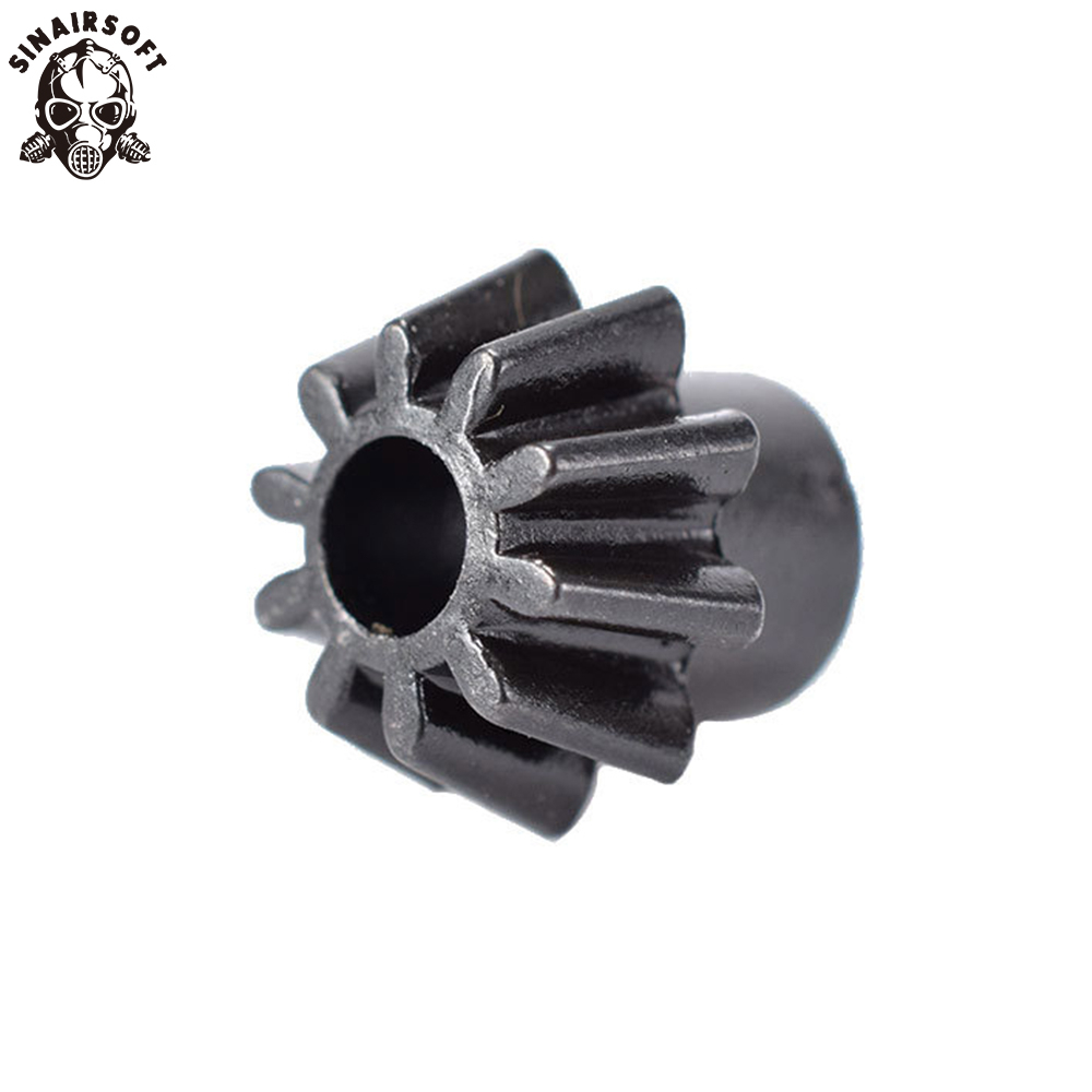 SINAIRSOFT Motor Pinion O Type And D Type Gear For Shooting Target Hunting Paintball Airsoft AEG Motor M4 M16 AK MP5 G3 G36